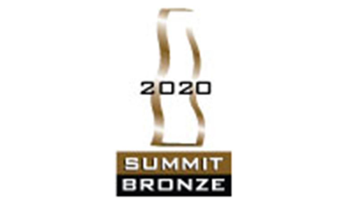 2020 summit bronze award