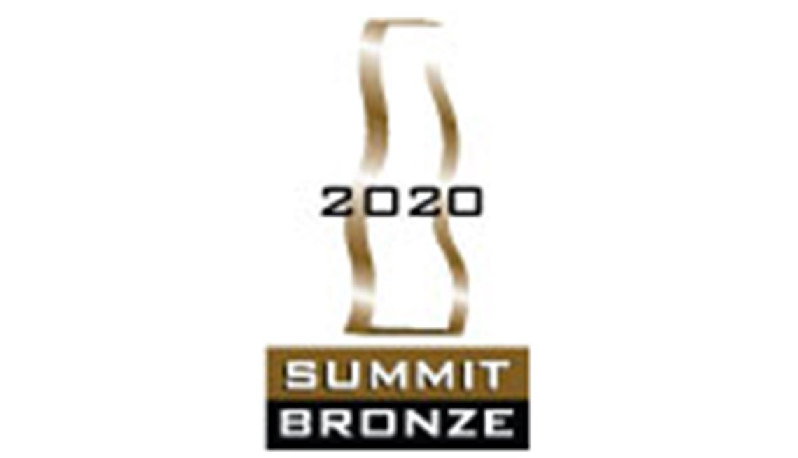 2020 summit bronze award