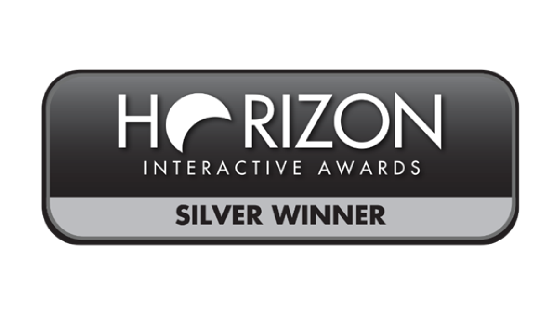 Horizon interactive awards. Silver winner