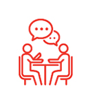 icon of two people talking