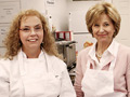 Jane Pauley and chocolatier Antoinette Little