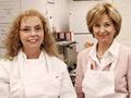 Jane Pauley and chocolatier Antoinette Little