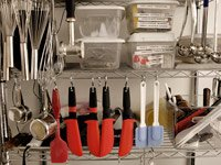 Tools of the trade of chocolatier Antoinette Little