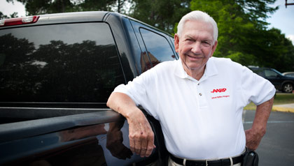 D.H. 'Jeff' Jefcoat a AARP Driver Safety Program instructors will teach the class in a one-day session next year rather than over two days.