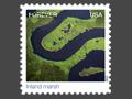 Inland Marsh - Jim Wark aerial photographer U.S. Postal Service Stamps
