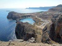 Creciendo en Grecia por Ernesto Lechner  - Bahía de St. Paul, Lindos, Rodas