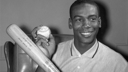 November 25, 1958 - Chicago Cubs shortstop Ernie Banks named the National League's Most Valuable Player.