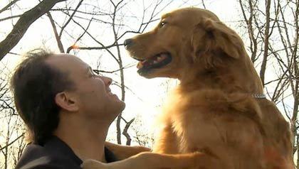 Entrevista con Luis Carlos Montalván (soldado, veterano y escritor) sobre su relación con Martes, un perro entrenado para ayudar  ala gente a nivel emocional