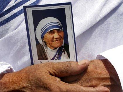 Retrato de la Madre Teresa de Calcuta