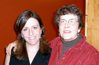 Rebecca Skloot and Betsy Lee McCarthy