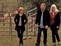 Jane Pauley with Alpaca ranchers