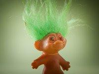 Memorabilia the baby boomer loves- a Troll doll