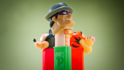 Memorabilia the baby boomer loves- a pez dispenser