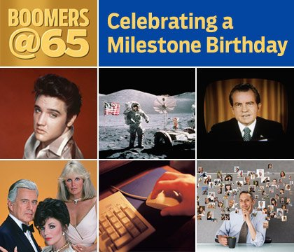 6 decades of Boomers