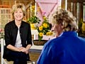 Jane Pauley sits down with sustainable landscape designer Catherine Zimmerman on the set of Your Life Calling.