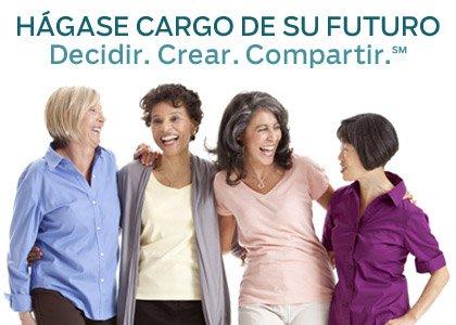 Hágase cargo de su futuro - Decidir - Crear - Compartir