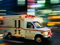 Rushing ambulance - 7 Ways caregivers can prepare for a crisis