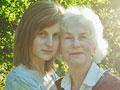 Foto de abuela y nieta