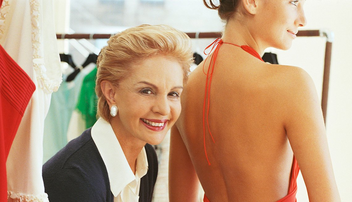 Fashion Designer Carolina Herrera