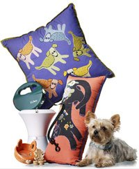 leash, pillows and other gift ideas for pets