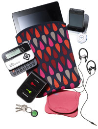head phones, iPad and other gift ideas for the tech person