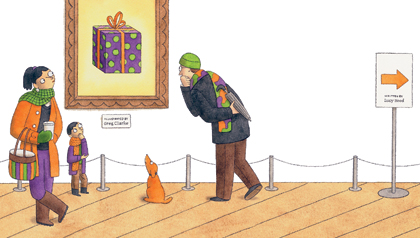 A gallery of gift ideas.
