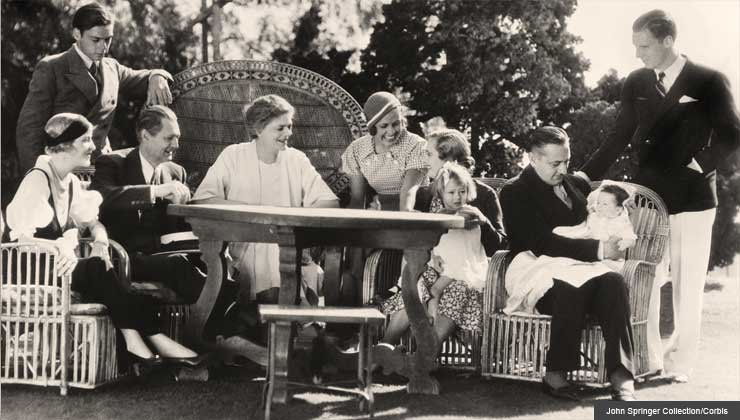 Barrymore Family Reunion photograph