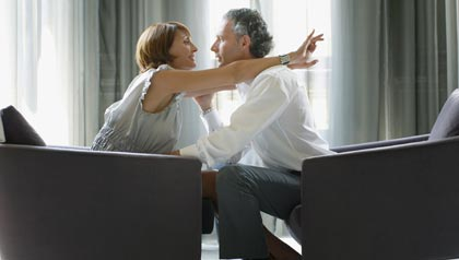 Protect Your Marriage from Infidelity-a couple gets ready to hug