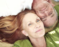 Lo que hace que un amante excelente pareja madura feliz