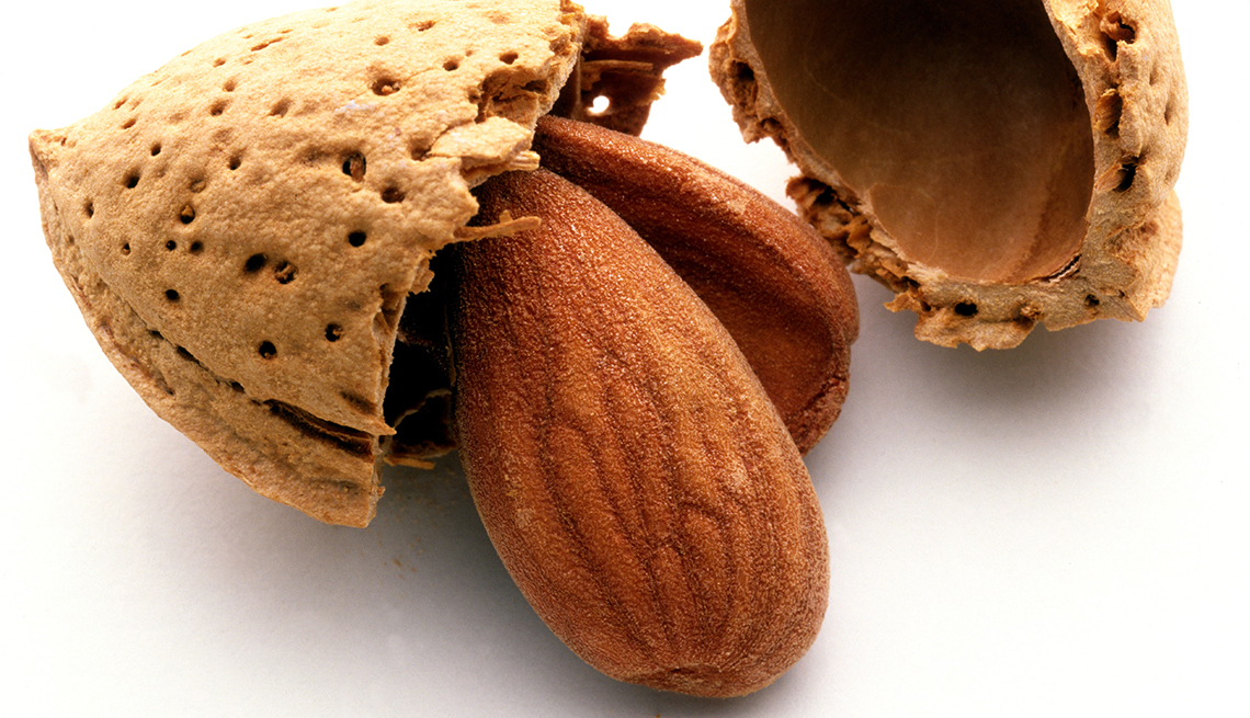 Almonds, Cracked Almond Shells, Romantic Meals, Recipes