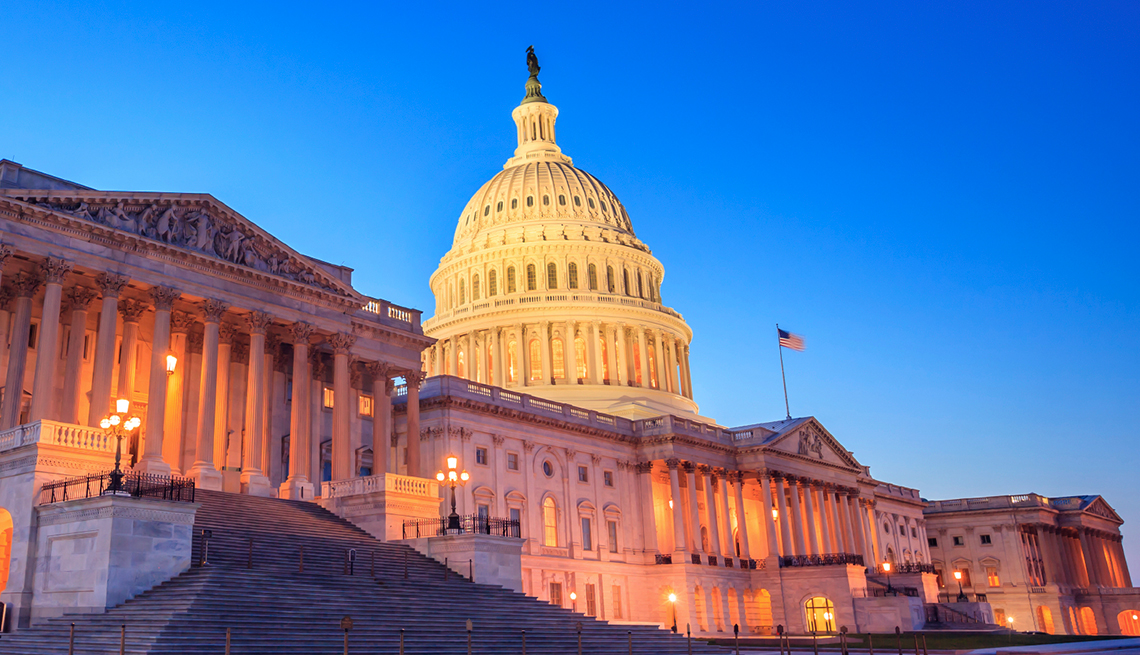 The United States Capitol building - AARP Public Policy Institute