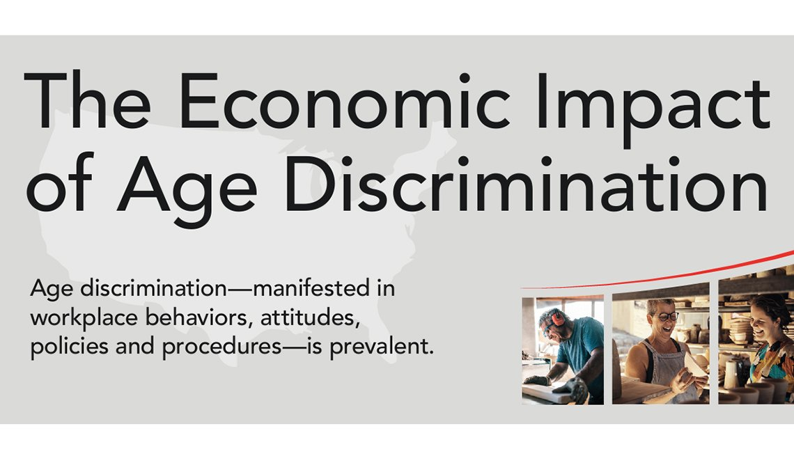 The Economic Impact of Age Discrimination Infographic