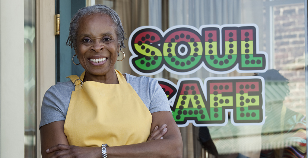 Black Woman Small Business Owner