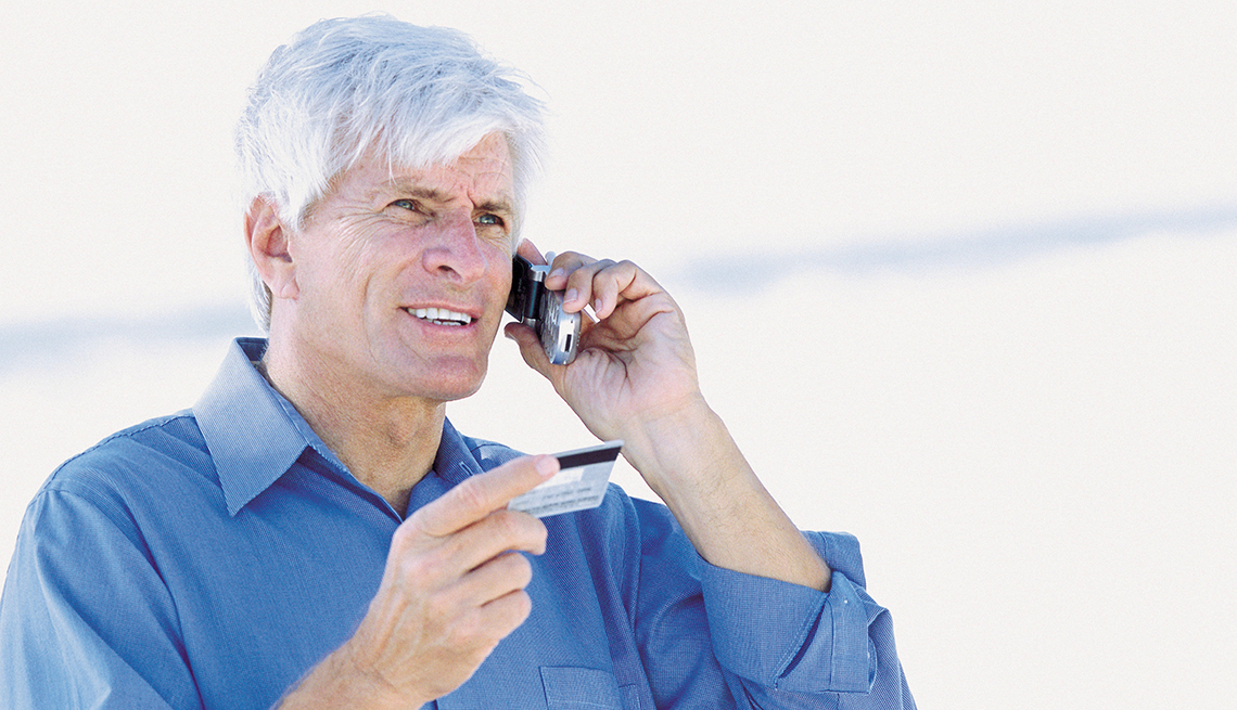 Providing Credit Card Info by Phone