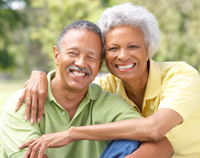 African American Elderly Couple