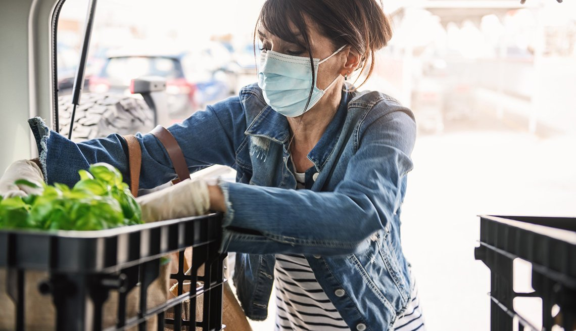 Buying Groceries During the Pandemic