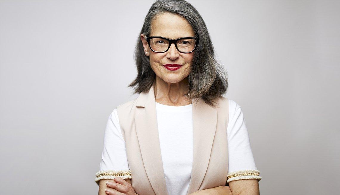 Portrait of Confident Mature Female CEO
