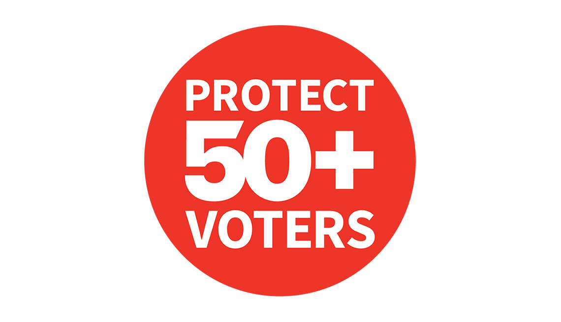 Protect 50+ Voters Logo
