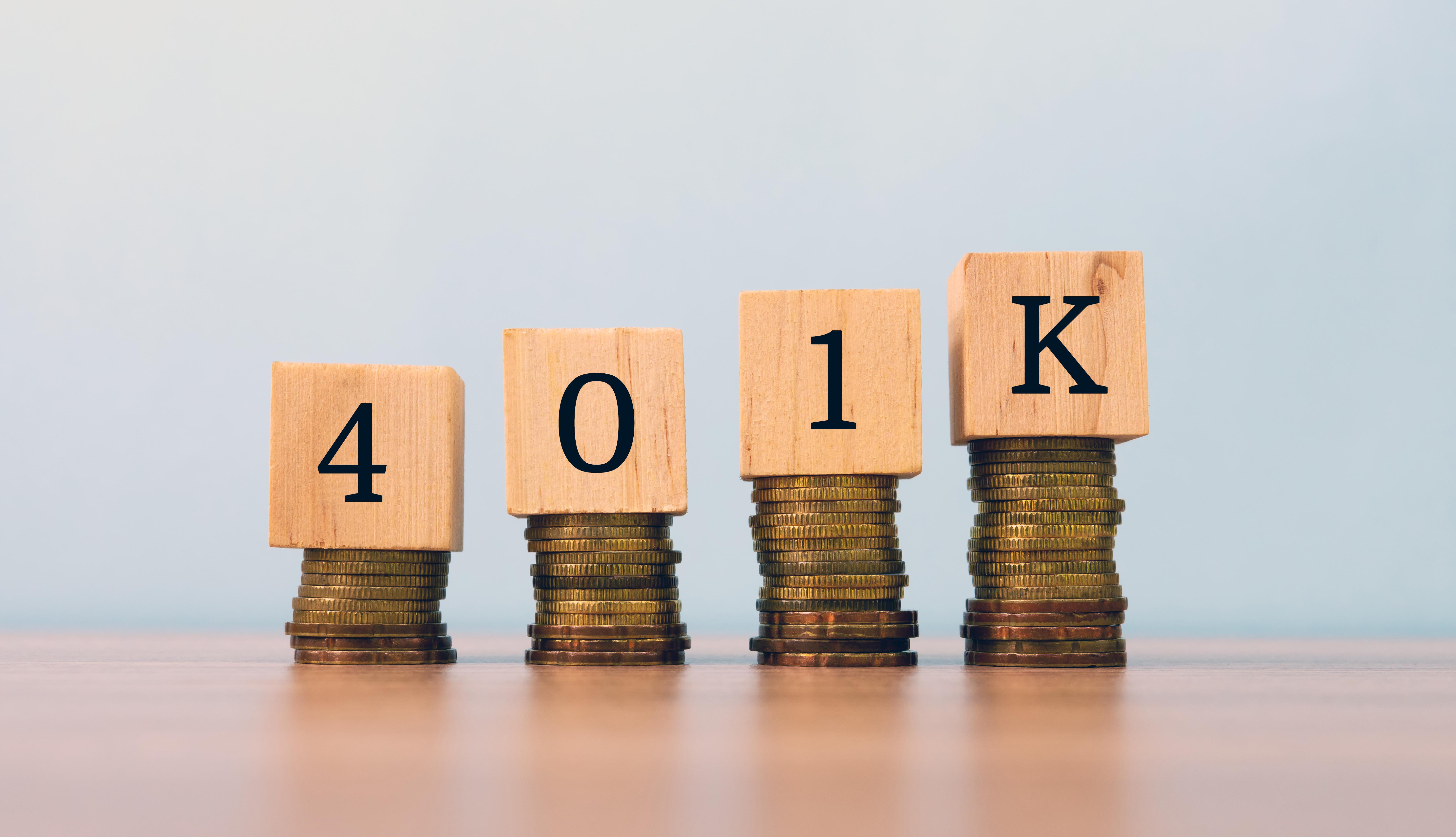 retirement savings coins