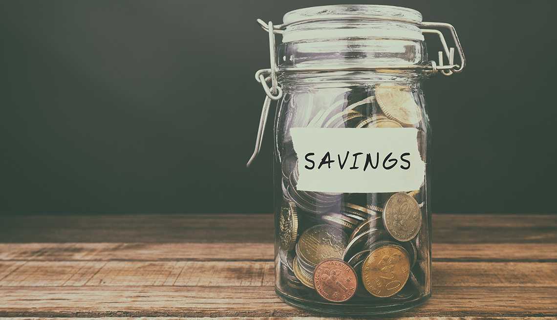 Savings coin jar