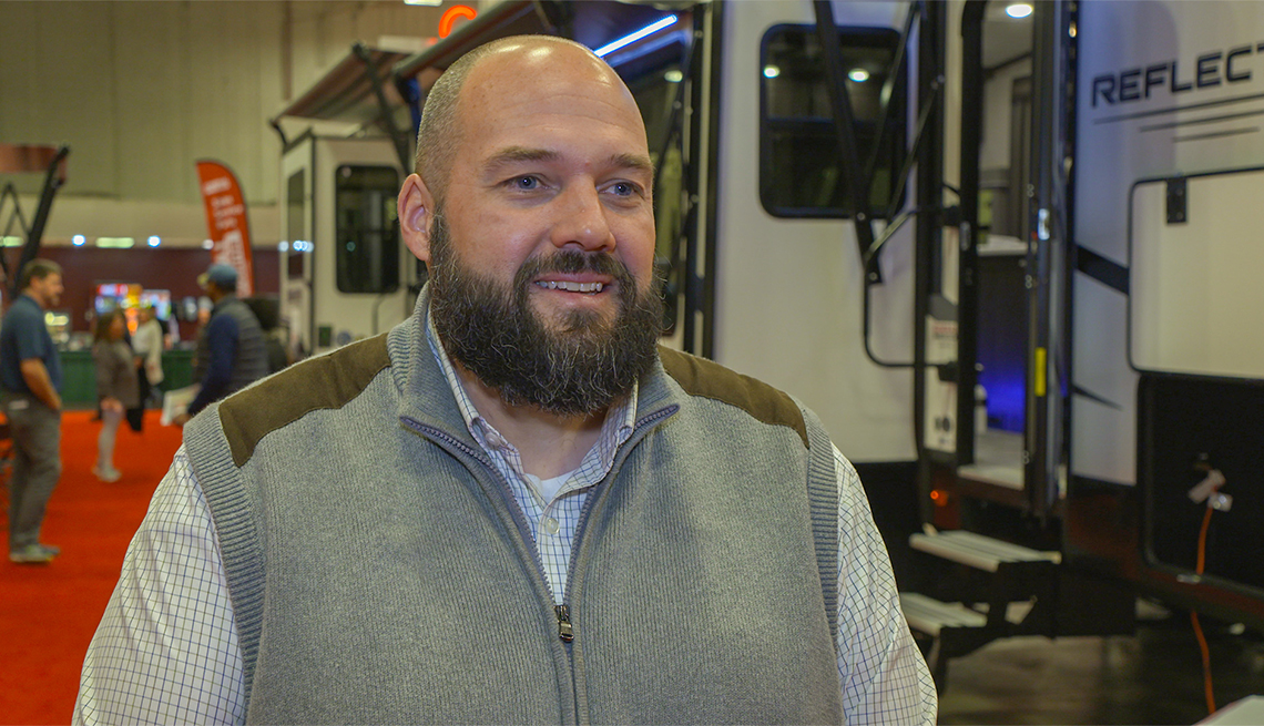 photo of Jeremy Puglisi from RV Expo