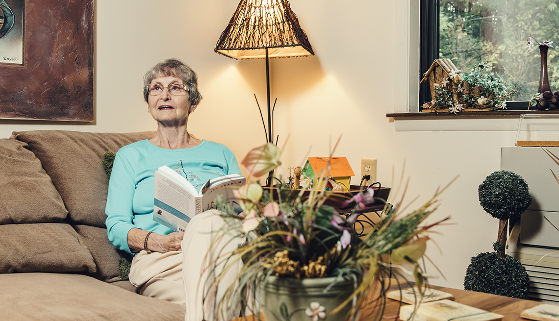 item 2 of Gallery image - Mae Gillespie at her home in Roanoke, Virginia Monday September 24, 2018.