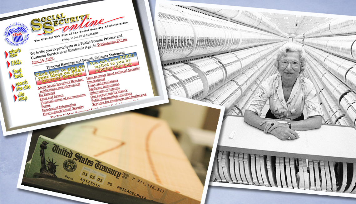 item 6 of Gallery image - Archivo del Seguro Social, y sitio web en los noventa.