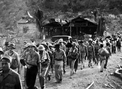 La Marcha de la Muerte de Bataán en la Segunda Guerra Mundial