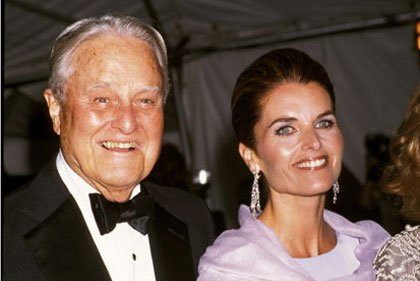 Image result for maria shriver with father