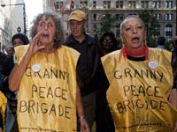 Granny Peace Brigade, Occupy Wall Street Demonstration