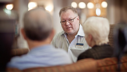 Les Ostermeier, consultation, Oregon has adopted tighter regulations of the adult family home and referral industries.