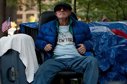 Danny Marks, Occupy Wall Street Demonstration slideshow