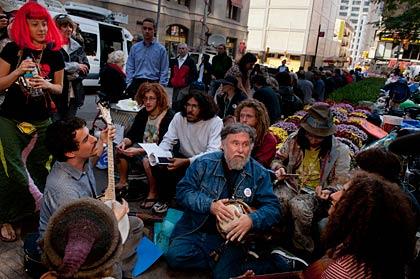 John Andrew Zamal, Occupy Wall Street Demonstration slideshow