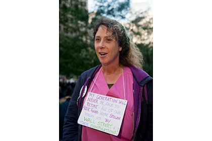 Tammy Bick, Occupy Wall Street Demonstration slideshow